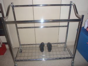 Moving Sale _Metal clothing organizer