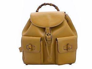 gucci backpack. gucci bamboo backpack