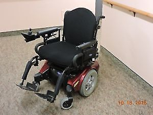 Invacare Pronto Electric wheelchair - easy to control