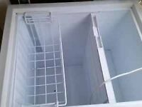 White Vestfrost Medium to Large Chest Freezer