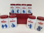 Milk Glass Cookie Jar