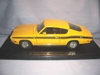 Diecast cars 1/18 scale 69 BARRACUDA and 69 GRAND PRIX
