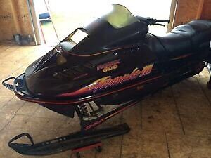 1996 formula 3 600 Triple snowmobile