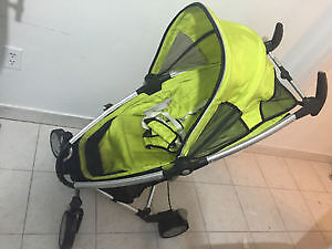 Poussette Quinny Zapp stroller with carrying bag avec sac