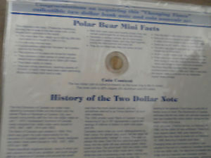 awesome Collectible Two Dollar Bank Note & Coin Set MINT!!!!!!!! London Ontario image 2