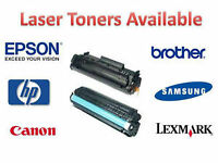 HP, Samsung, Brother, Epson Toners For sale