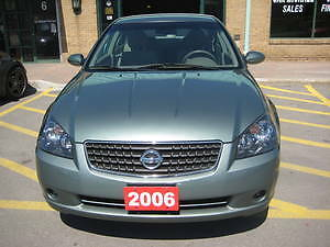 2006 Nissan Altima Sedan- Special Edition