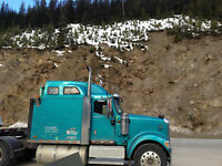 Looking for Class one driver for  long haul