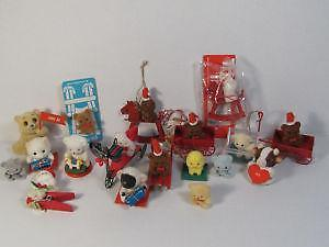 vintage miniature christmas ornaments - Ebay Vintage Christmas Decorations