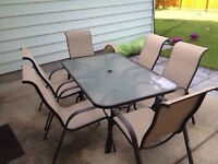 Outdoor Chairs and Patio table