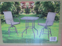 ensemble bistro set patio style bar