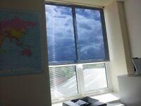 Anti-glare heat reducing office blinds