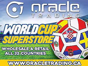 WORLD CUP SOCCER WHOLESALE SUPERSTORE -ALL TEAMS- HUGE WAREHOUSE