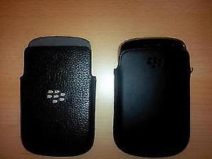 BLACKBERRY LEATHER HOLSTER