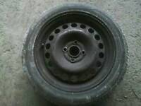 Wanted corsa c spare wheel