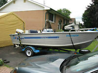 16.5 ft centre console fishing boat for sale