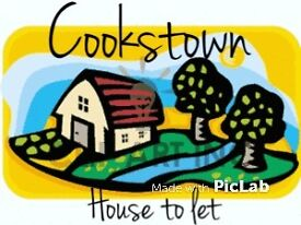 Cookstown - 4/5 bed house to let
