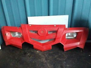 2003 - 2005 Can Am Outlander Front Fascia, Red Viper Red
