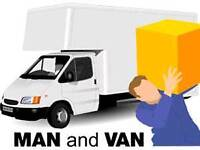 Man & van - reliable and friendly