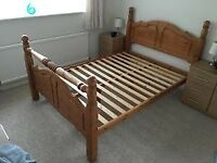I have a Solid Pine Double Bed for sale
