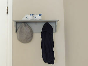 Grey Three Prong Shelf