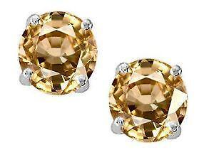 Imperial Topaz Earrings