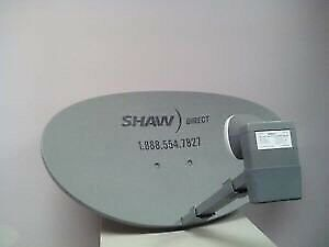 Shaw Direct Satellite dish