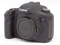 Canon 7D Body A+ Condition