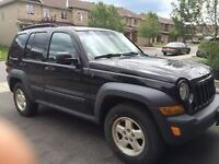 2007 Jeep Liberty WITH NEW WINTER TIRES