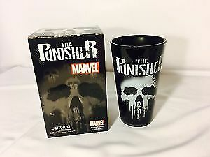 Marvel Punisher Glass - Nerd block exclusive