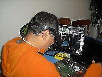 Réparation d'ordinateur (laptop, ordinateurs de bureau) 40$ fixe