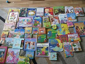 Over 70 english and french kids books. AVAILABLE