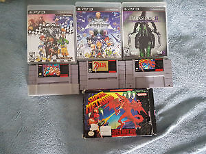 Lot de jeux ps1 ps2 ps3 SNES