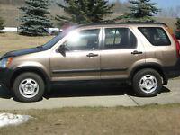 2002 Honda CR-V LX SUV, Crossover