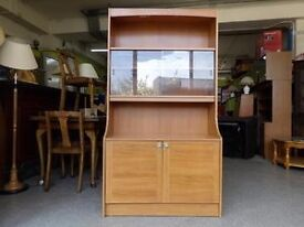 XMAS SALE NOW ON!! - Display cabinet with cupboard & shelves - Can Deliver For £19