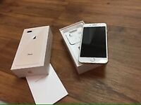 iPhone 8 Plus 256gb gold. New, EE network