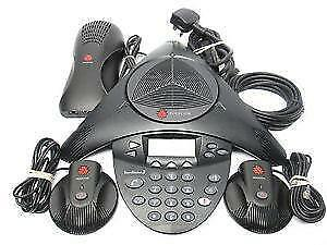 2200-16200-001 Polycom SoundStation2, expandable, with display - Analog conference phone