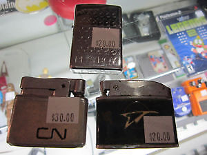 CN, CP & PLAYBOY BUNNY Zippo Lighters For Sale