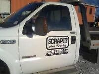 Towing and Scrap Car and Truck Removal