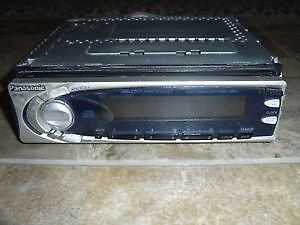 Panasonic Car/Truck Radio cd-player W/ detachable front