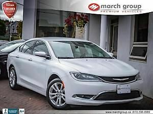 2015 Chrysler 200-Series Limited Sedan
