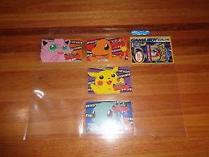 Gameboy Color Pokemon Snap x 4, All Different with SIM card, NEW! Axe Creek Bendigo Surrounds Preview