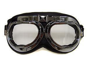 Race Car Vintage Goggles