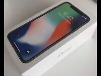 IPHONE X BRAND NEW SEALED BOXED