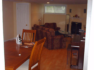 AVAILABLE IMMEDIATELY - 1 room in 3 room basement apartment