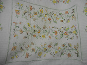 """Embroided Quilt """"Tree of Life"""" London Ontario image 1"""