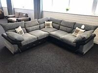 (((**NEW LUXURY LOGAN CORNER OR 3 +2 SOFA SET AVAILABLE CASH ON DELIVERY**)))