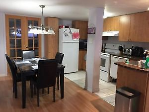 July First - 3 1/2 - RENOVATED bright bachelor / LaSalle