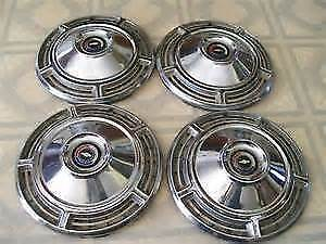 1968 chevelle hubcaps set