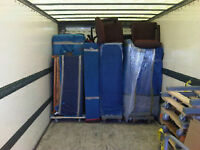 16FT TRUCK+2 men@$69/hr 225-3823(FREE BOXES)THE MASTERS OF MOVES